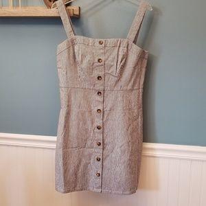 NWT Hollister Button Front A-Line Dress